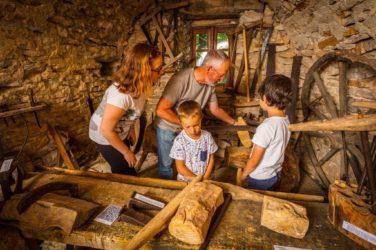Le musée de la ferme caussenarde d'autrefois